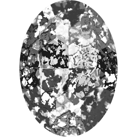 Swarovski 4127, Crystal Black Patina