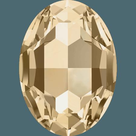 Swarovski 4127, Crystal Golden Shadow