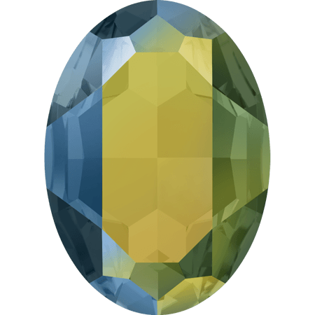 Swarovski 4127, Crystal Iridescent Green