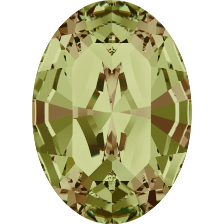 Swarovski 4128 - XILION Oval, Crystal Luminous Green