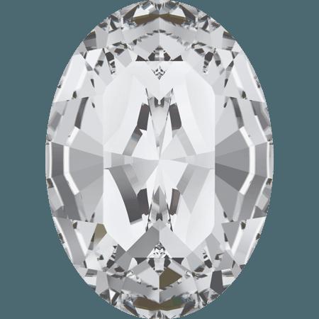 Swarovski 4128 - XILION Oval, Crystal