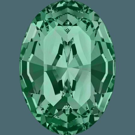 Swarovski 4128 - XILION Oval, Emerald