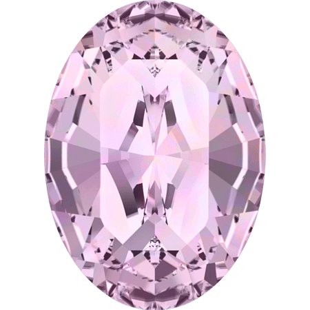 Swarovski 4128 - XILION Oval, Light Amethyst