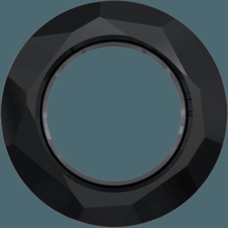 Swarovski 4139 - Cosmic Ring, Jet