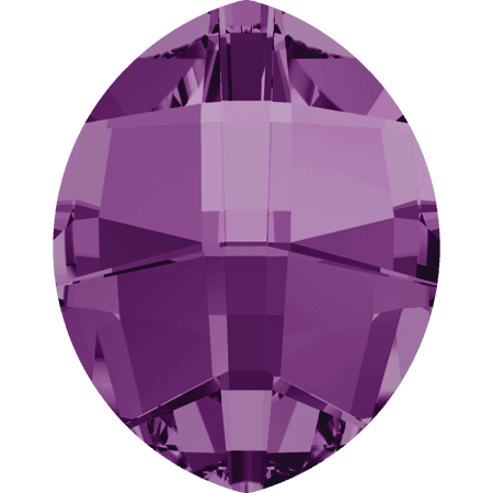 Swarovski 4224 - Pure Leaf, Amethyst