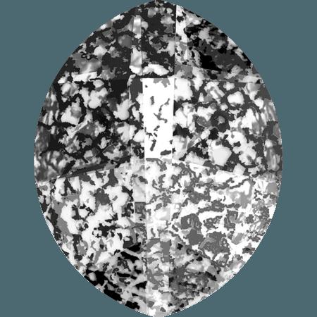 Swarovski 4224 - Pure Leaf, CR Black Patina
