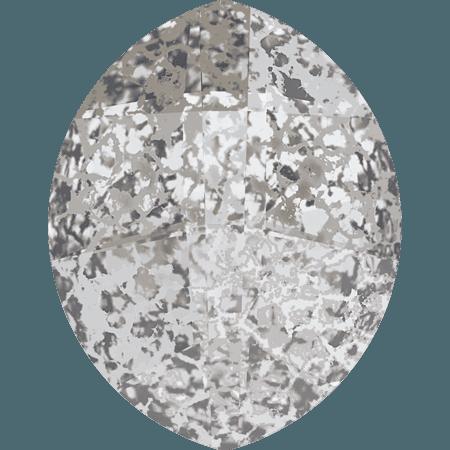 Swarovski 4224 - Pure Leaf, CR Silver Patina