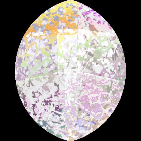 Swarovski 4224 - Pure Leaf, CR White Patina
