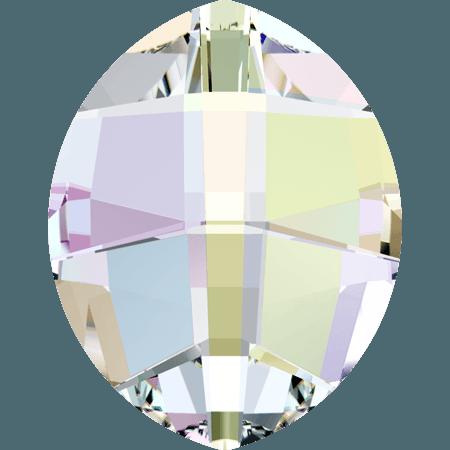 Swarovski 4224 - Pure Leaf, Crystal AB