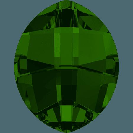 Swarovski 4224 - Pure Leaf, Dark Moss Green