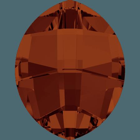 Swarovski 4224 - Pure Leaf, CR Red Magma