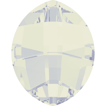 Swarovski 4224 - Pure Leaf, White Opal
