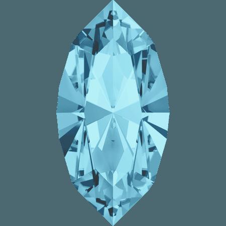 Swarovski 4228 - XILION Navette, Aquamarine