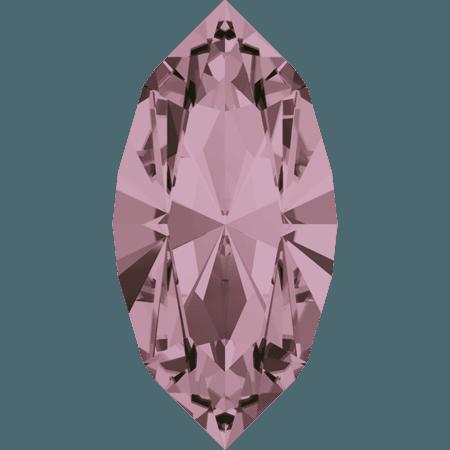 Swarovski 4228 - XILION Navette, Crystal Antique Pink