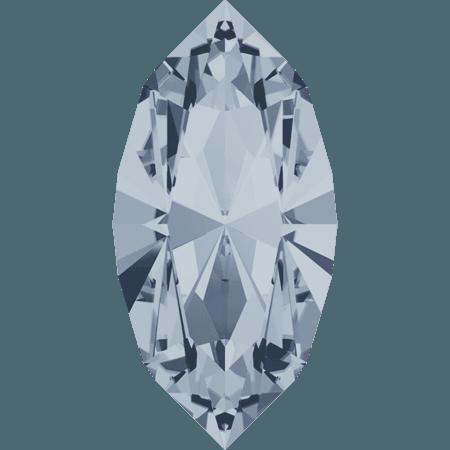 Swarovski 4228 - XILION Navette, Crystal Blue Shade