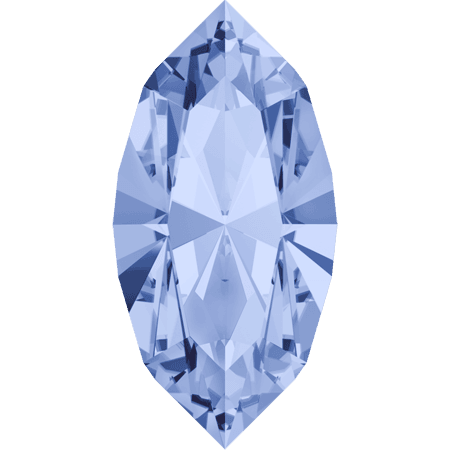 Swarovski 4228 - XILION Navette, Light Sapphire