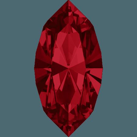 Swarovski 4228 - XILION Navette, Light Siam
