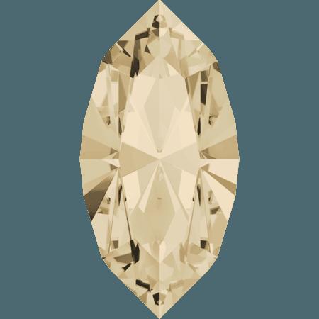 Swarovski 4228 - XILION Navette, Light Silk