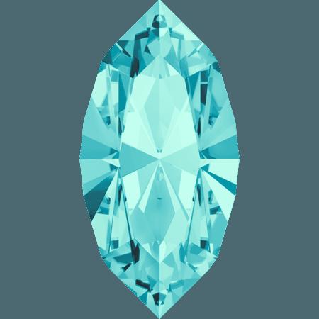 Swarovski 4228 - XILION Navette, Light Turquoise
