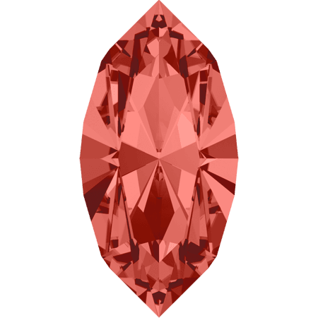 Swarovski 4228 - XILION Navette, Padparadscha