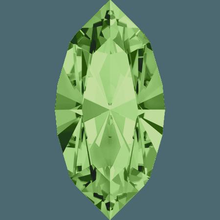 Swarovski 4228 - XILION Navette, Peridot
