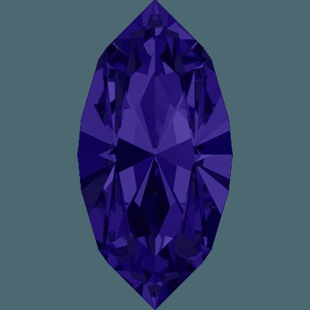Swarovski 4228 - XILION Navette, Purple Velvet