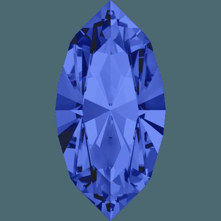 Swarovski 4228 - XILION Navette, Sapphire