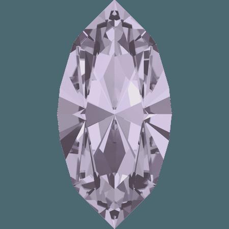 Swarovski 4228 - XILION Navette, Smoky Mauve