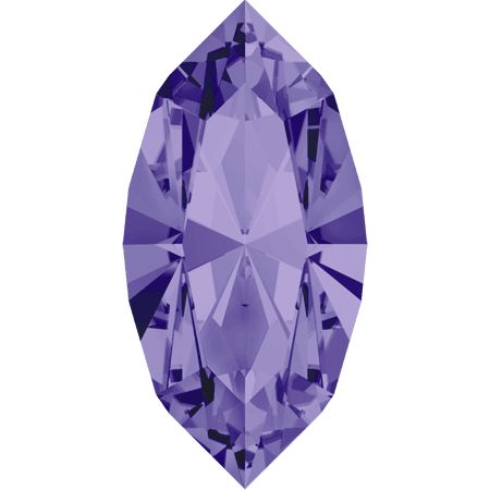 Swarovski 4228 - XILION Navette, Tanzanite