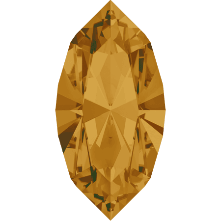 Swarovski 4228 - XILION Navette, Topaz