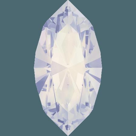 Swarovski 4228 - XILION Navette, White Opal