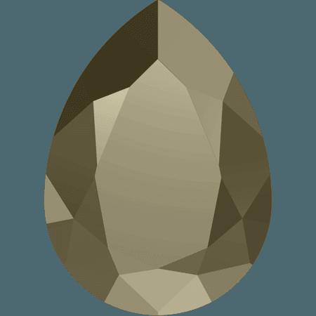 Swarovski 4320, CR Metallic Light Gold