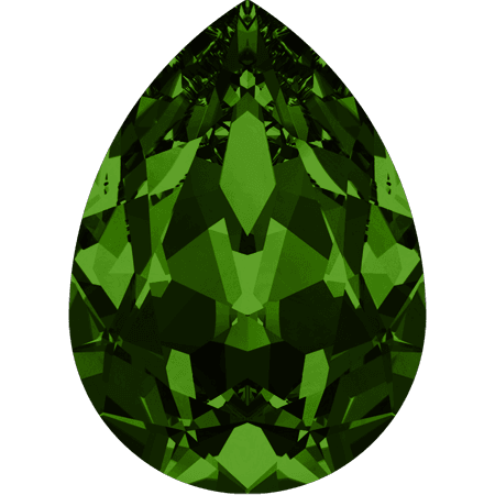 Swarovski 4320, Dark Moss Green