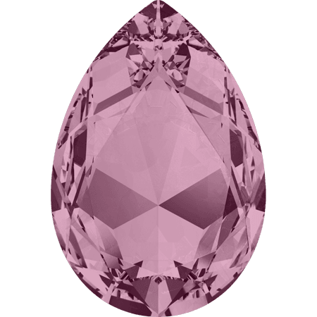 Swarovski 4327, CR Antique Pink