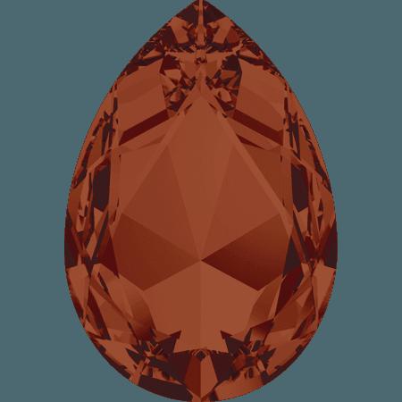Swarovski 4327, CR Red Magma