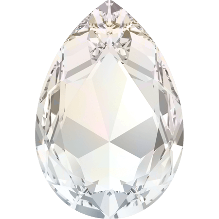 Swarovski 4327, White Opal