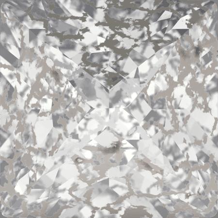 Swarovski 4418 - XILION Pointed Square, CR Silver Patina