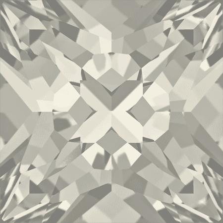 Swarovski 4418 - XILION Pointed Square, CR Silver Shade