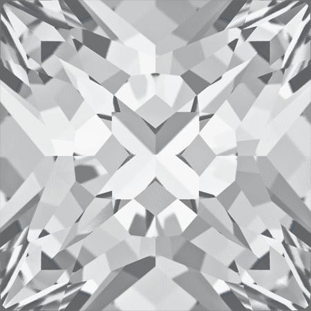 Swarovski 4418 - XILION Pointed Square, Crystal