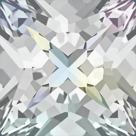 Swarovski 4418 - XILION Pointed Square, Crystal AB