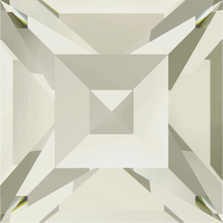 Swarovski 4428 - XILION Square, CR Silver Shade