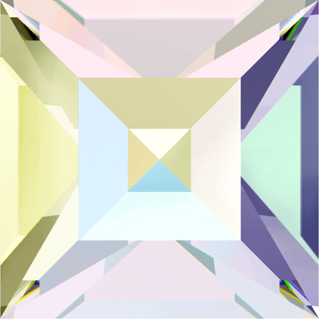 Swarovski 4428 - XILION Square, Crystal AB