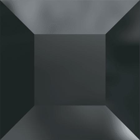 Swarovski 4428 - XILION Square, Jet Hematite UNF