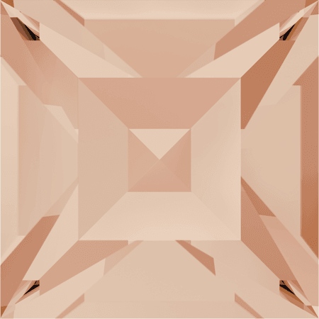Swarovski 4428 - XILION Square, Light Peach