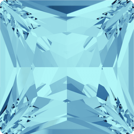 Swarovski 4447 - Princess Square, Aquamarine