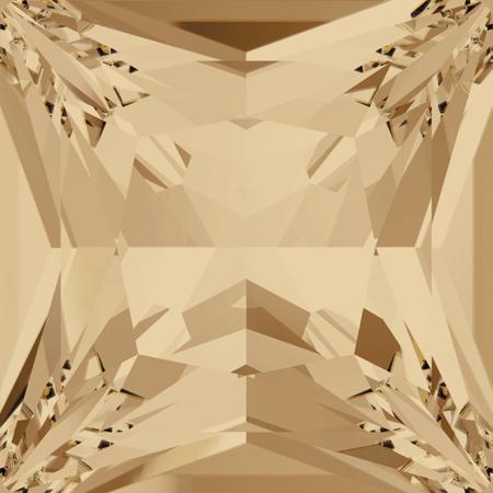 Swarovski 4447 - Princess Square, CR Golden Shadow