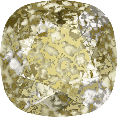 Swarovski 4470, CR Gold Patina