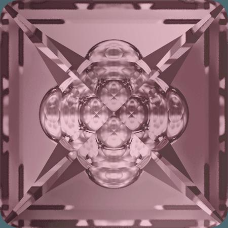 Swarovski 4481 - Vision Square, CR Antique Pink