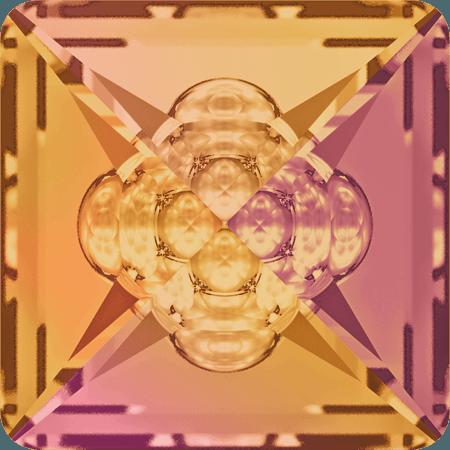 Swarovski 4481 - Vision Square, CR Astral Pink