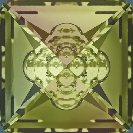 Swarovski 4481 - Vision Square, CR Luminous Green